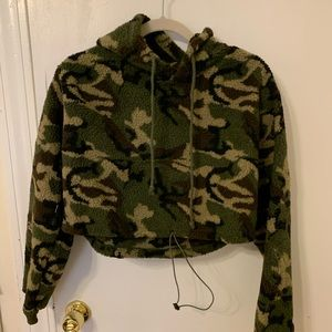 Zaful crop top sweater